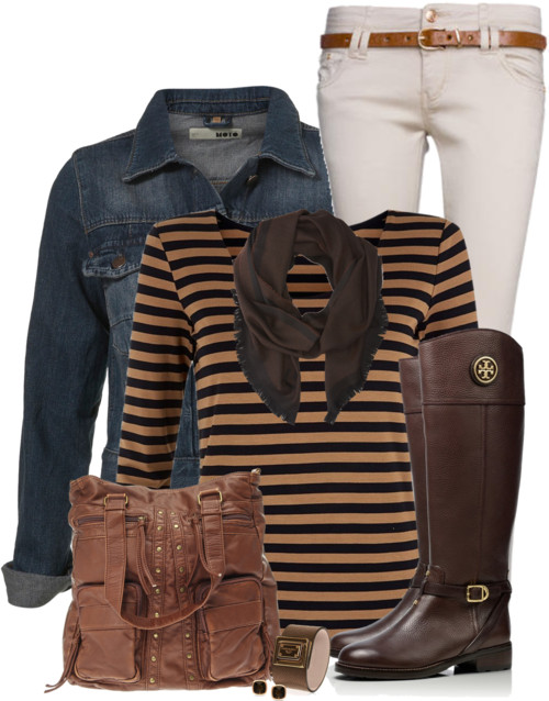 Stone Jeans Casual Fall Outfit outfitspedia