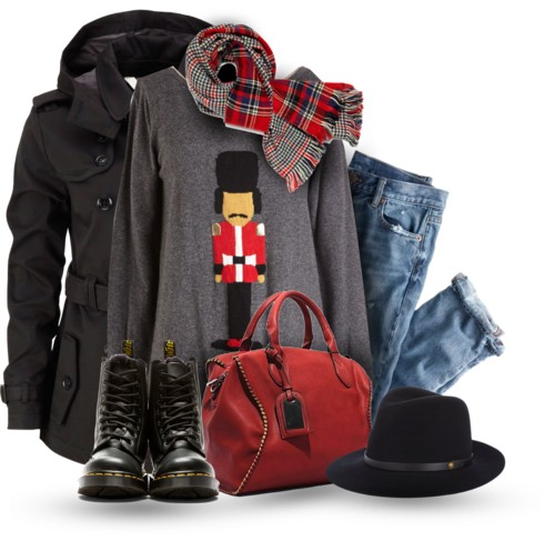 The Cute Ugly Sweater Winter Outfit outfitspedia