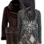 'The Dark Snowflake' Winter Outfit