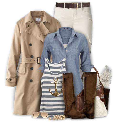 'Winter Sailor' Cozy Winter Outfit outfitspedia