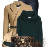 Wool and Cashmere Turtleneck Sweater Fall Outfit