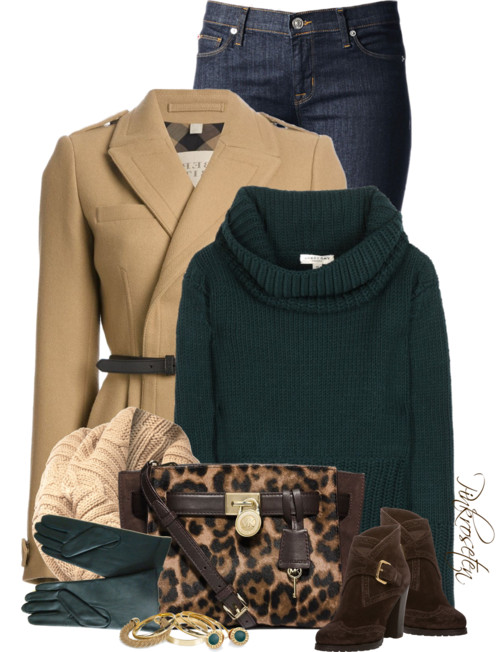 Wool and Cashmere Turtleneck Sweater Fall Outfit outfitspedia