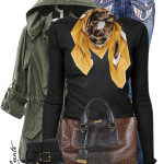 Back Pocket Bling Bootcut Jeans Winter Outfit