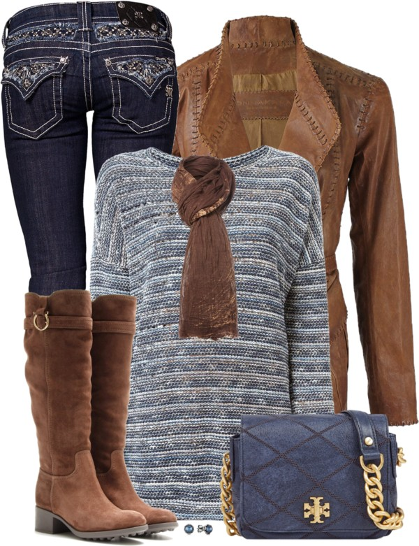 Bling Jeans Fall Outfit outfitspedia