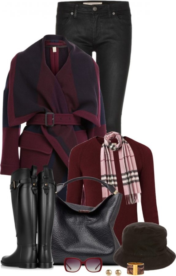 Burberry Blanket Coat Classy Fall Outfit outfitspedia