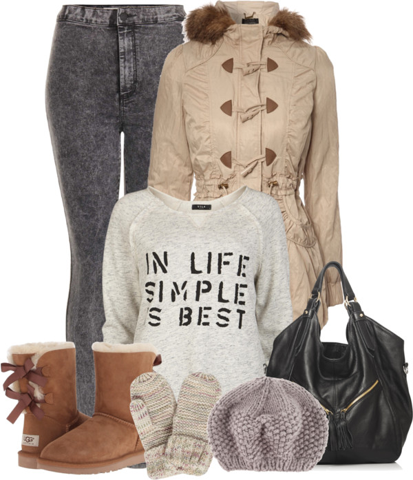 Casual Black Wash Legging Fall Outfit outfitspedia