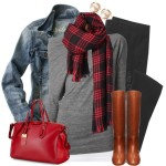 Casual Drape Top Fall Outfit