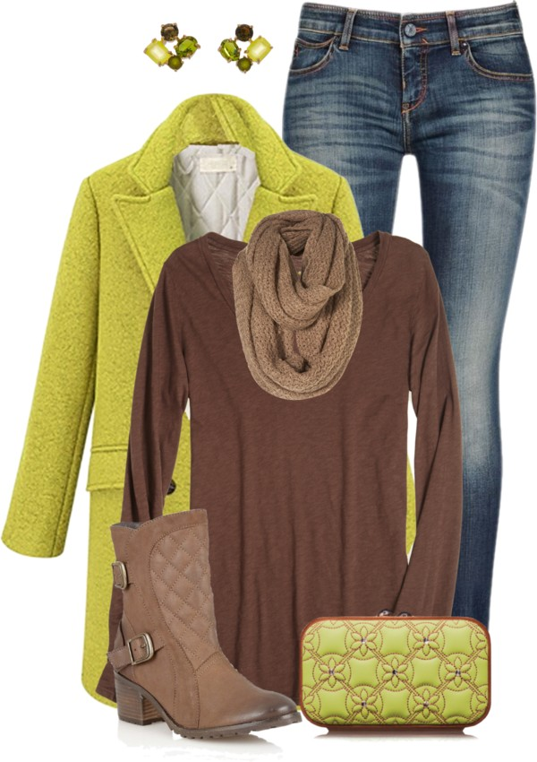 Casual Fall Outfit With Clutch Outfitspedia