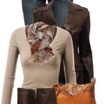 Chocolate Cowboy Leather Jacket Stylish Fall Outfit