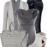 Classy Shades Of Grey Fall Outfit