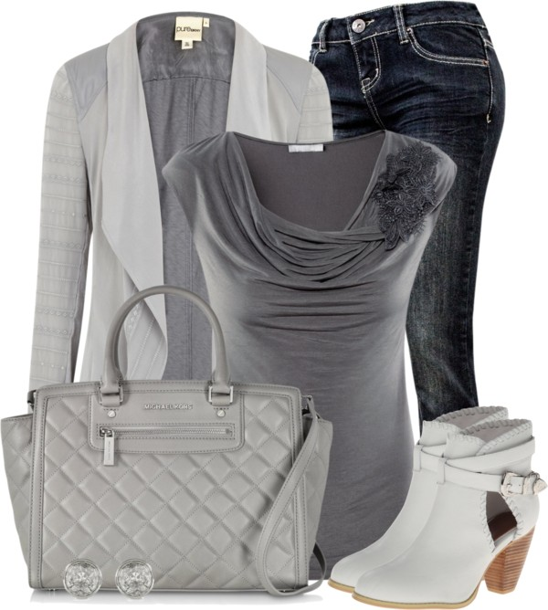 Classy Shades Of Grey Fall Outfit outfitspedia