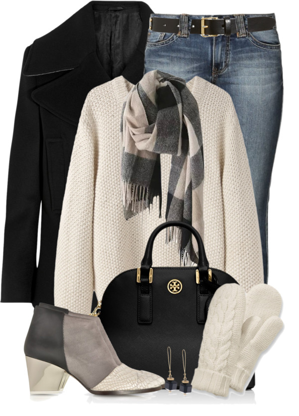 Color Block Booties Fall Outfit outfitspedia