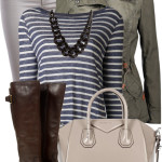 Double Buckle Rider Boot Fall Outfit