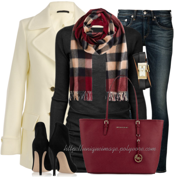 Fall Winter Outfit 'Cozy in Cashmere' outfitspedia