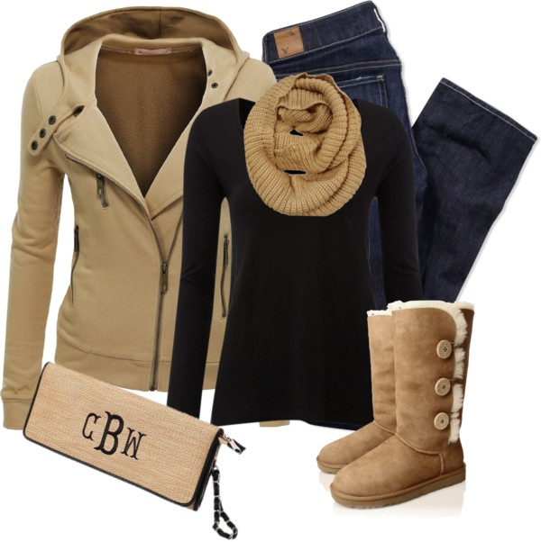 Fine Stretch Cotton Hood Jacket Casual Fall Outfit outfitspedia