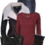 Fur Collar Jacket With Ugg Boots Fall Outfit