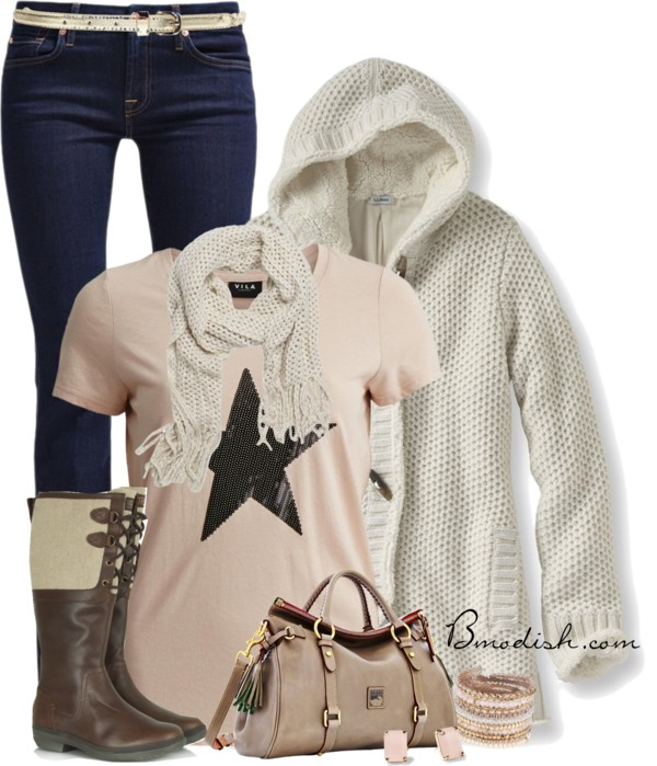 Honeycomb Hoodie Cute Fall Outfit outfitspedia