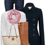 Original Hunter Pea Coat Fall Outfit