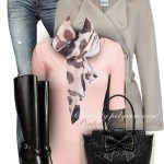 Leopard, Pink and Bow Fall Outfit