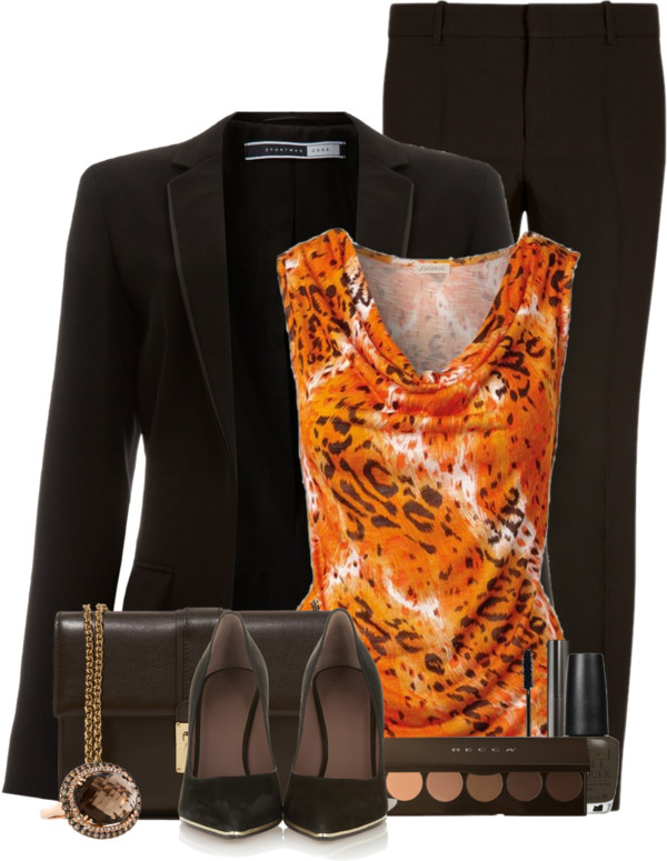 Leopard Printed Top Classy Outfit outfitspedia