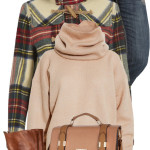 Mix Knit Sweater Fall Outfit