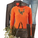 Orange Jumper Cozy Casual Fall Outfit