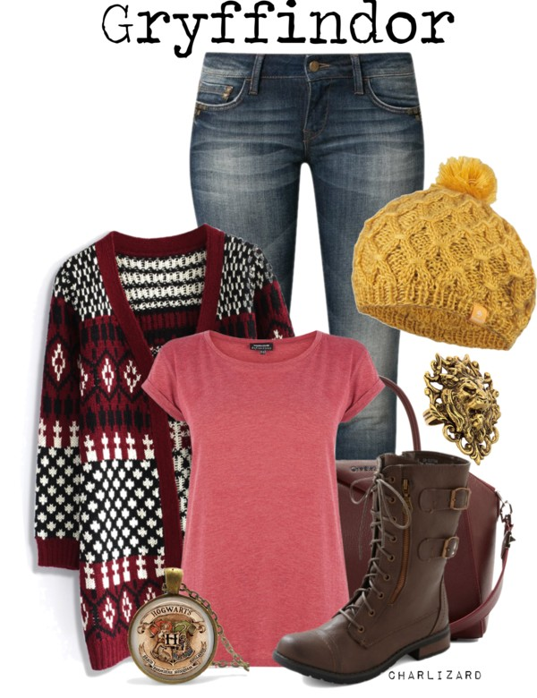 Pattern knnitted cardigan casual fall outfit outfitspedia