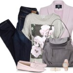 Pink Loafers Casual Spring Outfit