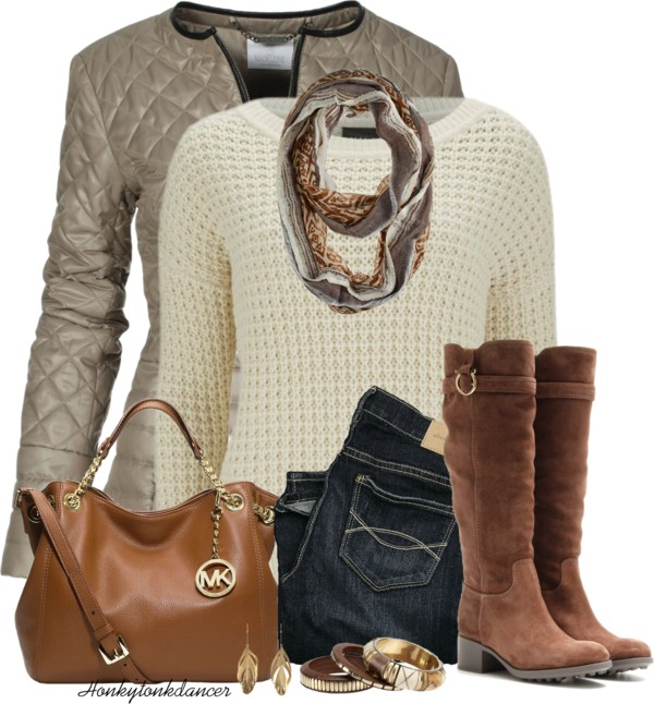 Shimmer Quilted Jacket Fall Winter Outfit outfitspedia