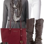 Stylish Belted Cardigan Fall Outfit