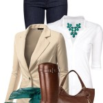 Stylish Boyfriend Blazer Casual Outfit