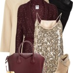 Stylish Sequin Cardigan New Years Outfit Polyvore
