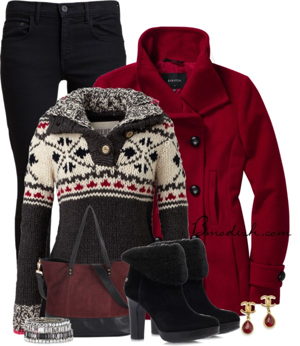 Superdry Pullover Cozy Winter Outfit outfitspedia