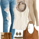 Wedge Boots for Fall Outfit