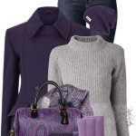 'Winter Purple' Cozy Winter Outfit