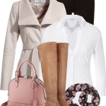 Wrap Collar Jacket Lovely Fall Outfit