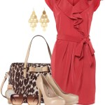Wrap Front Dress Classy Outfit