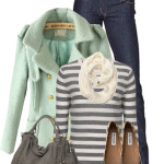 A Minty Gray Day Fall Outfit