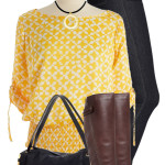 Cute Michael Kors Kimono Top Spring Outfit