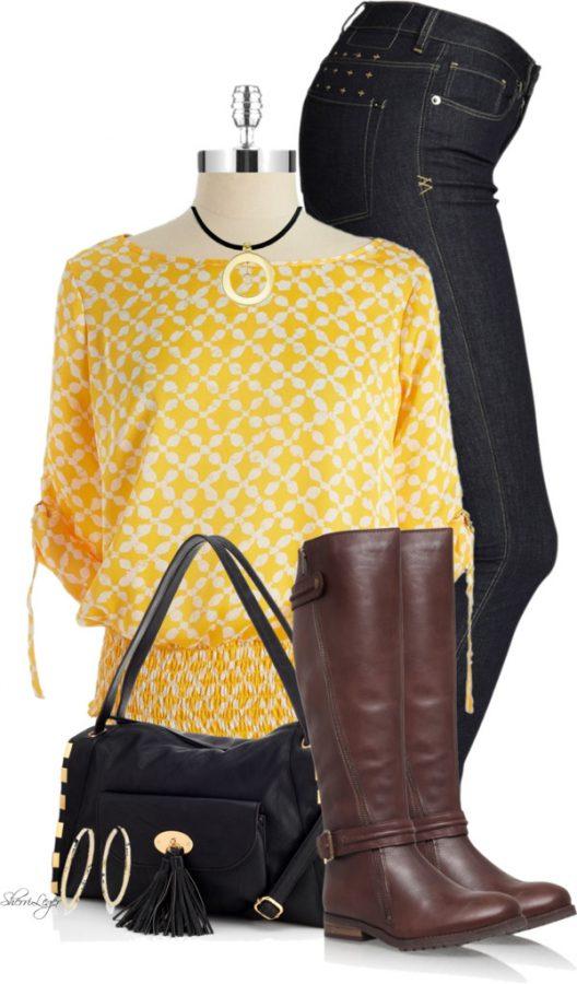 Cute Kimono Top Spring Outfit outfitspedia