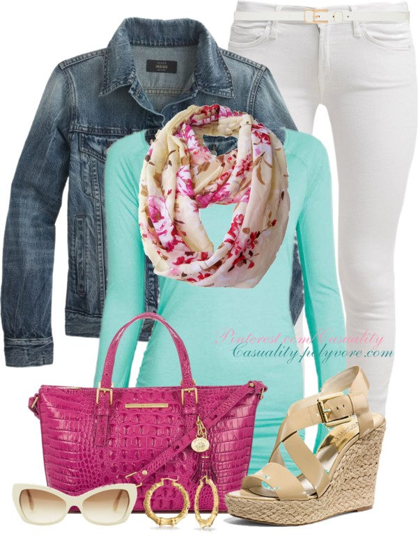 Happy Color Welcome Spring Outfit outfitspedia