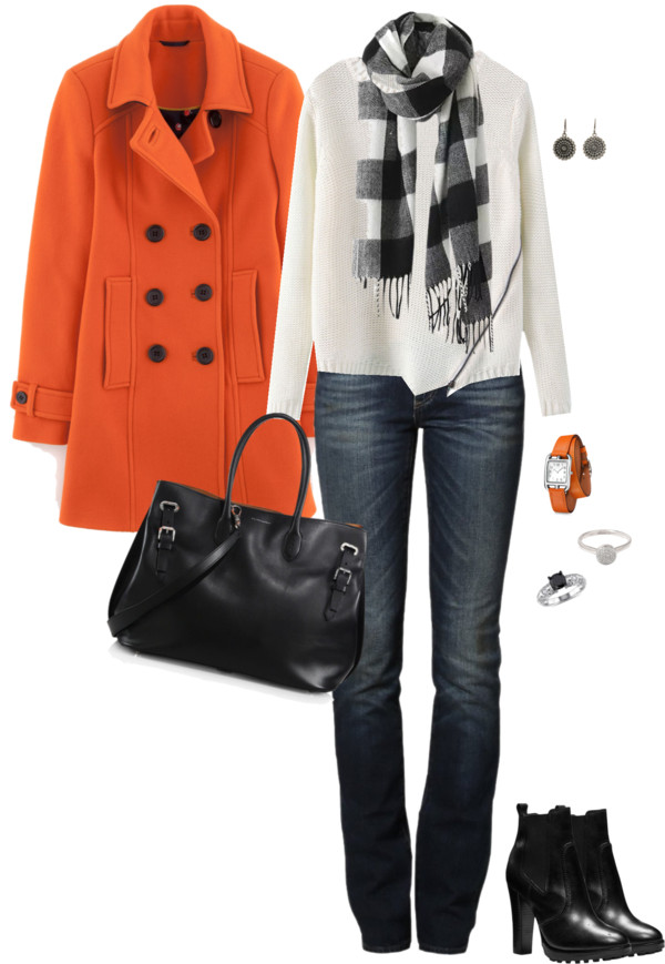 Ledbury Pea Coat Stylish Fall Outfit outfitspedia