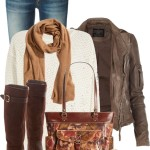 Marsden Leather Jacket Casual Fall Outfit