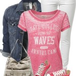 'Riding the Waves' Casual Spring Outfit