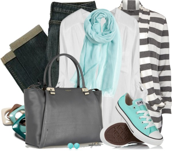 Tiffany Chuck's Casual Outfit outfitspedia