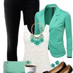 Minty Sweet Spring Outfit