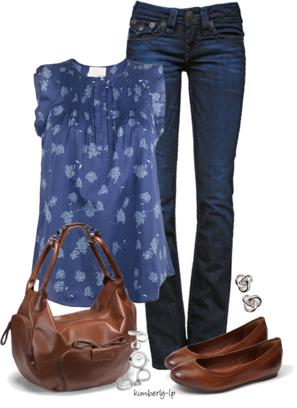 Cute Pintuck Blouse Spring Outfit outfitspedia
