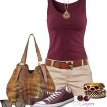 Casual Converse Summer Outfit outfitspedia