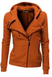 Fleece Zip-Up High Neck Jacket outfitspedia