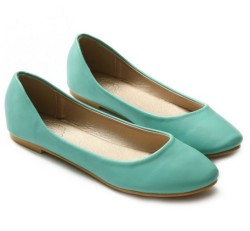light mint comfort low heel flat outfitspedia